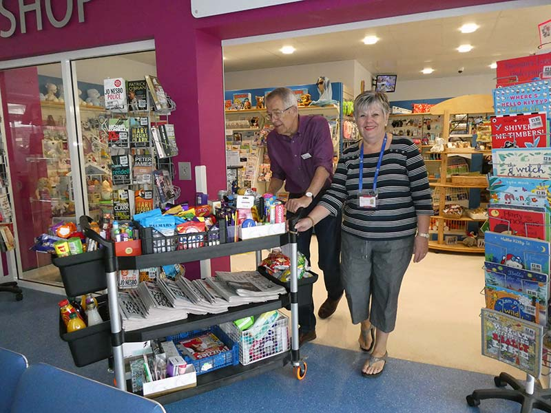 St Richards Hospital shop Chichester