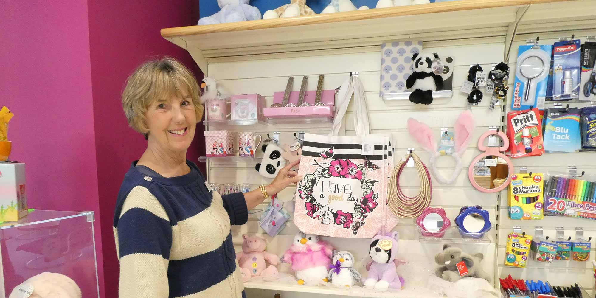 Friends of Chichester Hospitals shop at St Richards