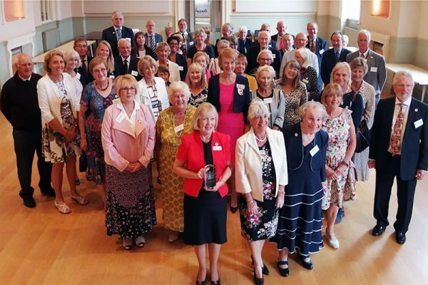 Friends receive Queen's Award for Voluntary Service
